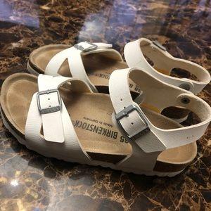 Birkenstock Rio Birko sandals size 5